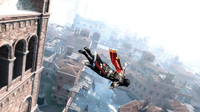 Ezio Leap Of Faith Assassins Creed Fans